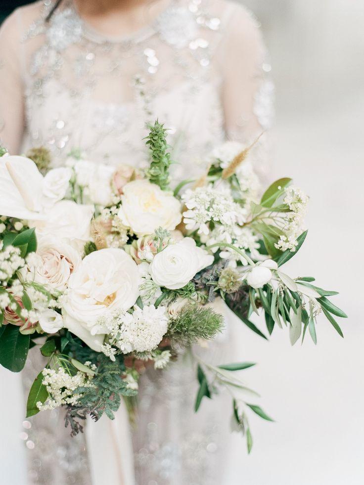 Huong Derek White Wedding Flowers Flower Bouquet Wedding