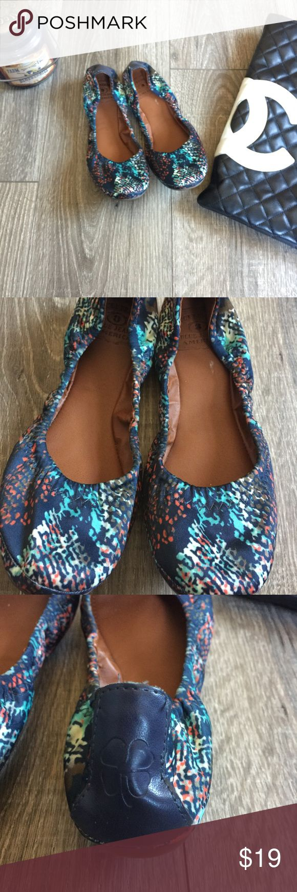 Lucky Brand Ballet Multi Color Flats Shoes Slipons Will go with anything! Lucky Brand 🍀 Flats. Sz 36 6 Lucky Brand Shoes Flats & Loafers