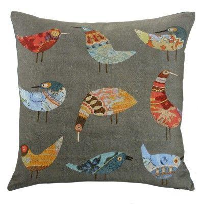 Birds cushion 50x50