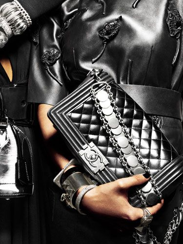 Black Leather Structured Handbags - Black Leather Bags and Accessories - Marie Claire#slide-1#slide-1: Coco Chanel, Chanel Handbags, Chanel Bags, Coach Bags, Black Leather, Mk Bags, Boys Bags, Accessories, Leather Bags