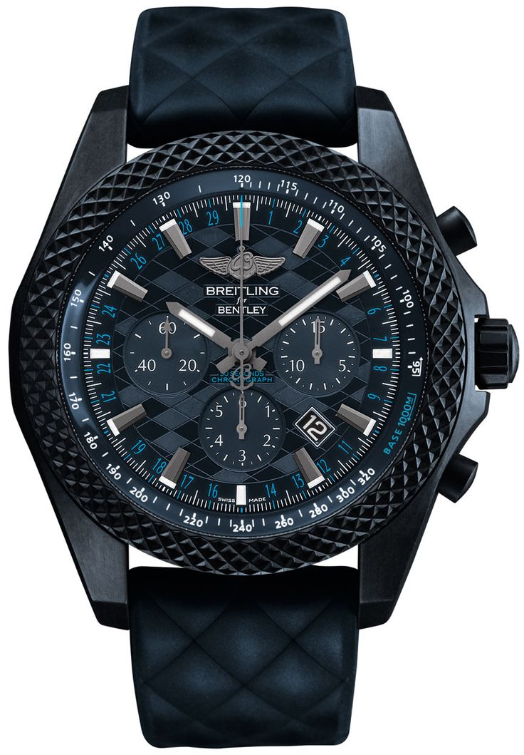 Breitling Bentley GT 'Dark Sapphire' Edition Watch