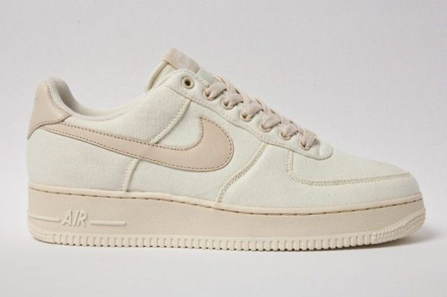 NIKE AIR FORCE 1 CANVAS (CASHMERE) – Image#1