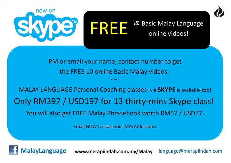Learn MALAY Language for FREE!!!