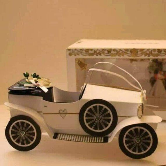 Vintage Wedding Car Keepsake In Gift Box In 2019