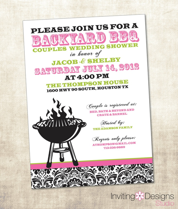 22 Best Images About Bbq Bridal Shower On Pinterest: 25 Best Couples Wedding Shower Images On Pinterest