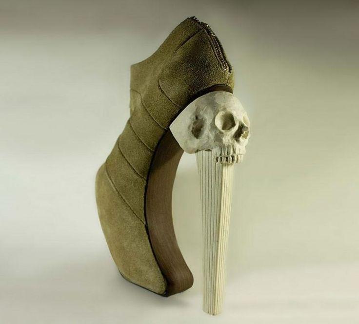 Этот парень создает что-то невообразимое... От его сумасшедшей обуви в восторге сама Леди Гага!