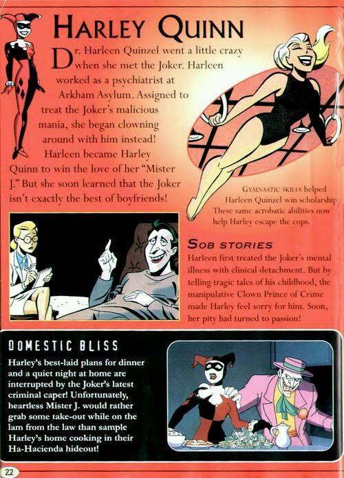 batman and harley relationship quiz
