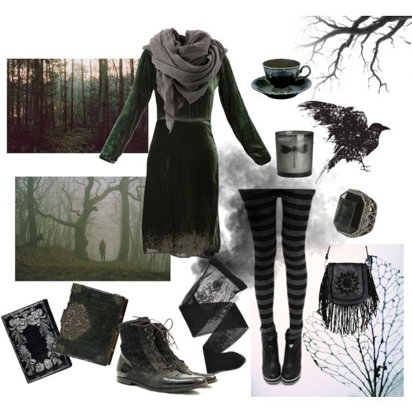 Leaf Litter by jaded-existense on Polyvore featuring Cynthia Rowley, Emporio Armani, Urban Originals, Wet Seal, H&M and Bruuns Bazaar