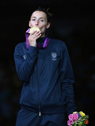 Women's Individual Foil Photos - Olympic Fencing | London 2012 Olympics GOLD DI FRANCISCA Elisa