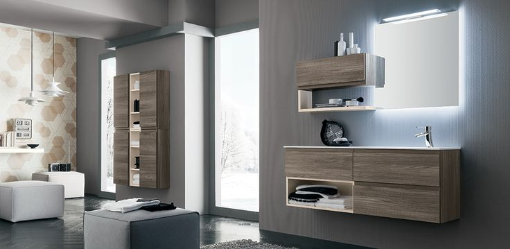 Hope, la collezione di mobili bagno che si trasforma in lavanderia