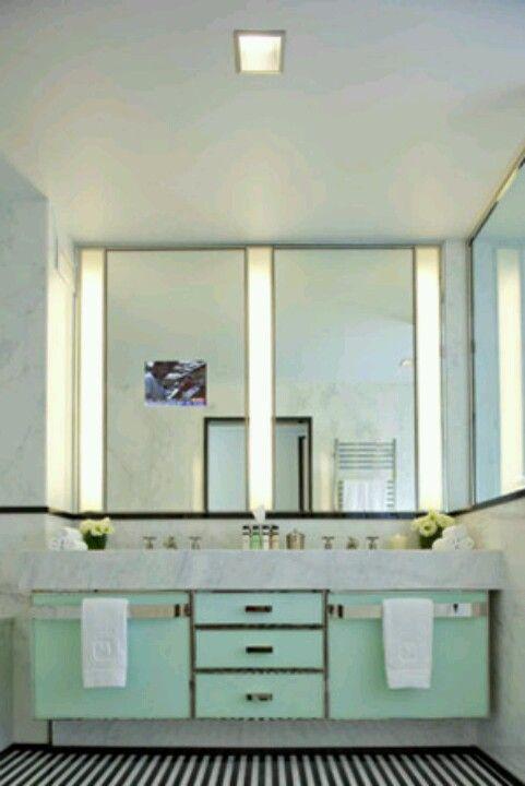 Best Inspo Art Deco Images On Pinterest Bathroom Ideas