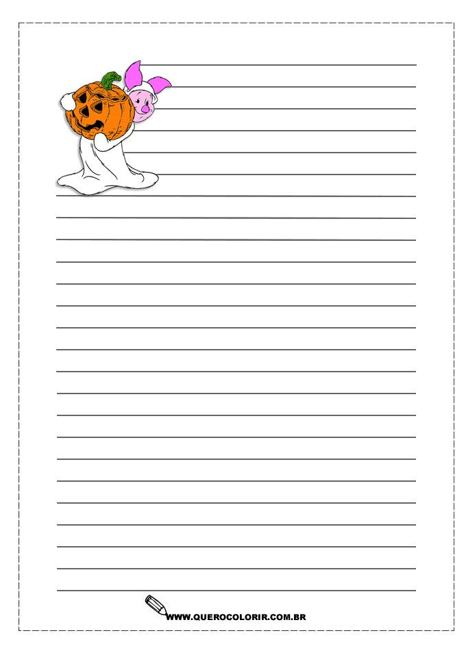 printable fall writing paper Free fall theme kindergarten and preschool printables fall theme kindergarten and preschool printables a large selection of free fall theme writing paper.