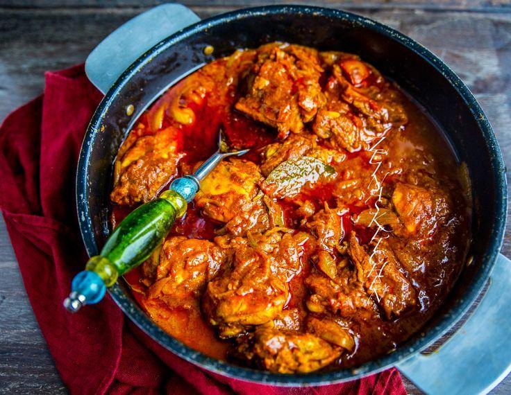 Indisk gryta med kyckling