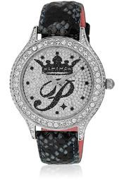 Paris Hilton H Ph12987js/04 Blue/Silver Analog Watch Online Shopping Store