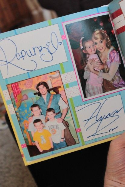 Shutterfly Disney Autograph/Photo album. I love this idea for AFTER, especially since we purchased the memory maker.