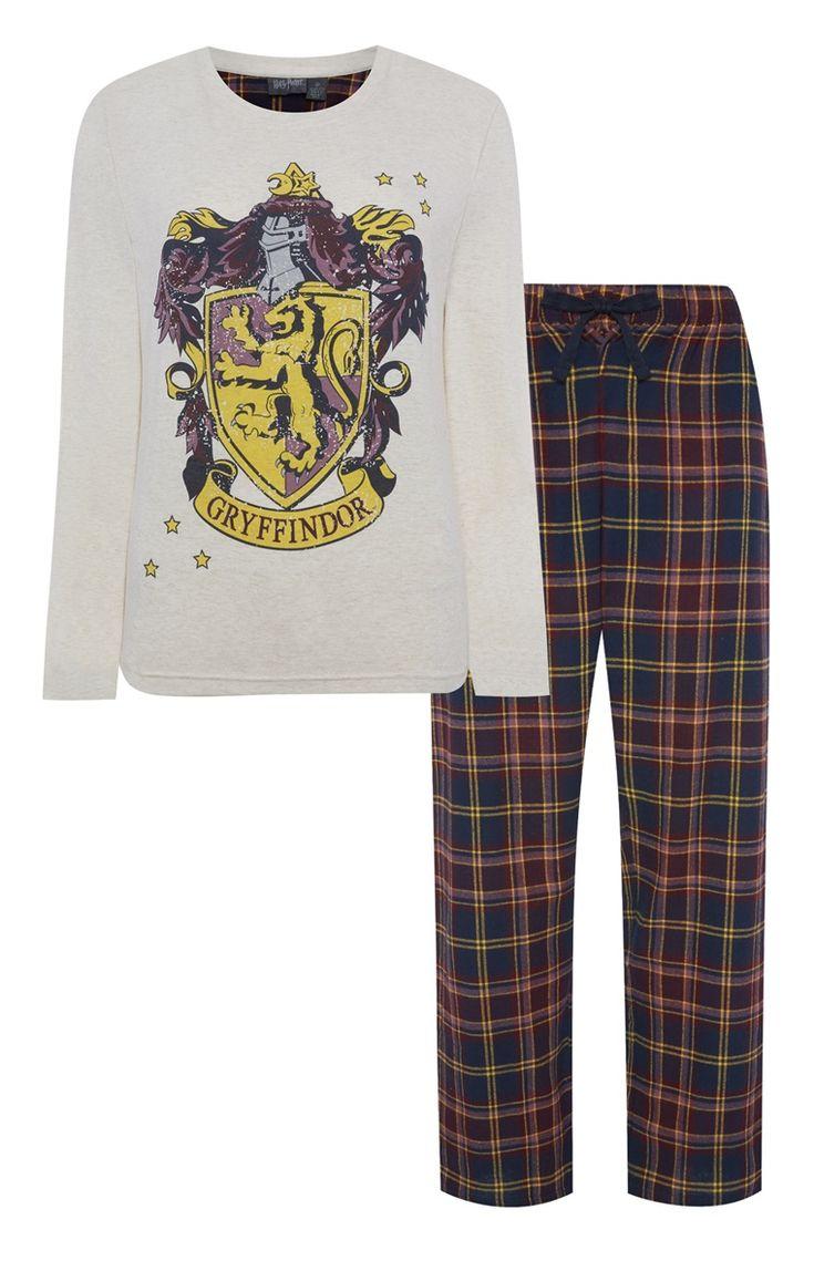 Pyjamaset met Gryffindor-wapen