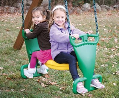 50 best creative playthings play sets images on pinterest for Unique swings for kids