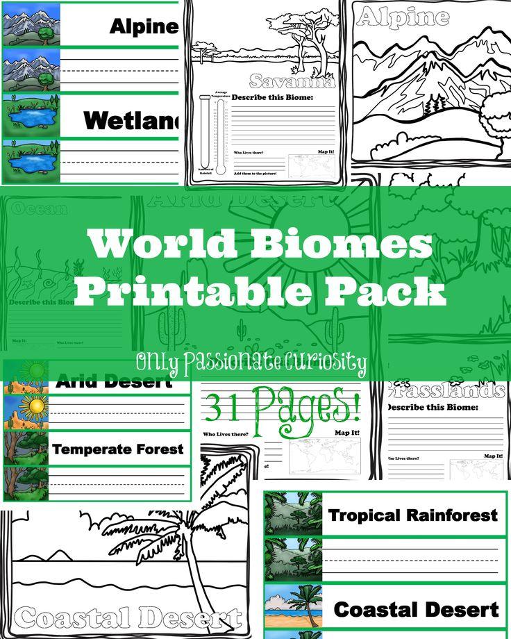 52 best Habitat Ecosystem Biome images on Pinterest | Life science ...