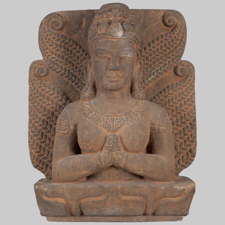 Stone Sculpture of Goddess  Sri Lakshmi