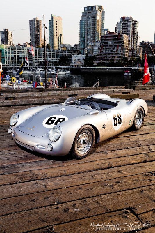 1955 Porsche 550 Spyder #vintage #porsche