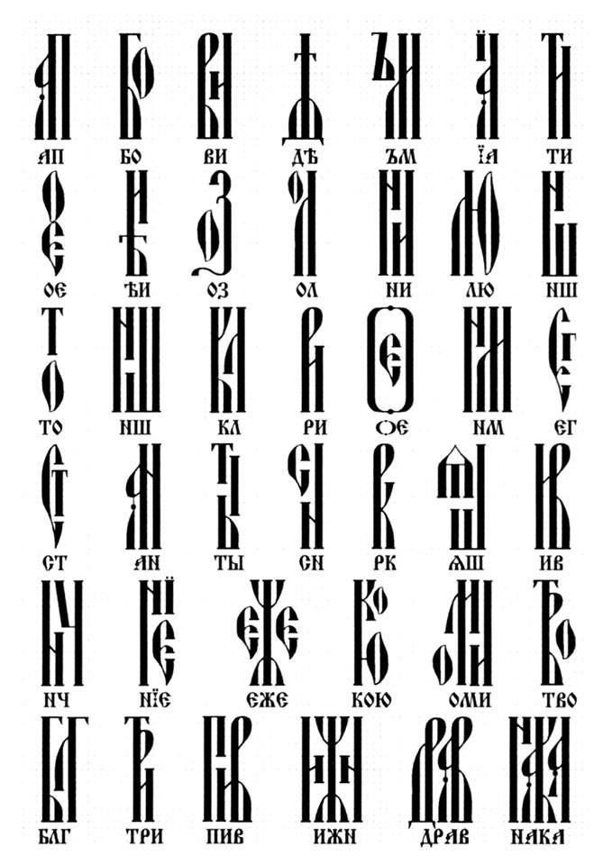 Image result for orthodox icons lettering