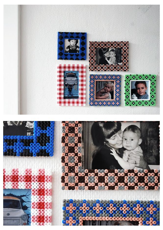 hama beads frames ikea pyssla idea perler beads pinterest hama perles hama et repasser. Black Bedroom Furniture Sets. Home Design Ideas