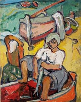 Cleaning Fish By Irma Stern