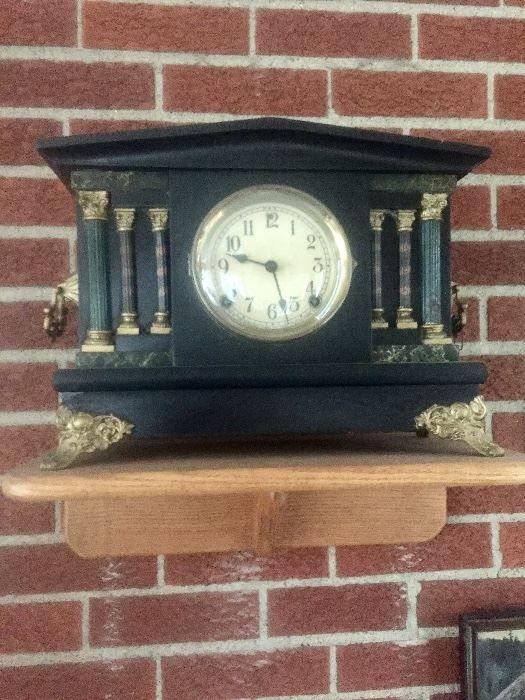 Found on EstateSales.NET: Antique clock