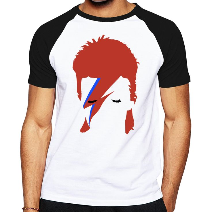 >> Click to Buy << Fashion shirts character designed men 2016 Rock Bowie David Bowie Ziggy Stardust printed t shirt good quality brand male T-shirt #Affiliate