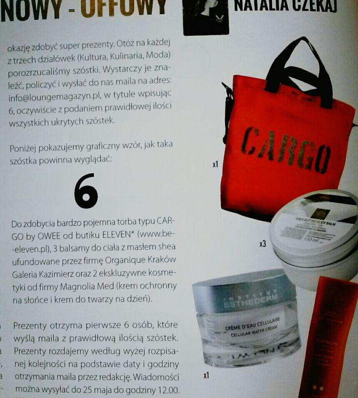 CARGO in Lounge Magazine