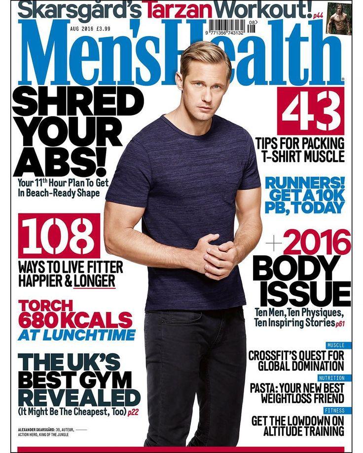 Alex on the cover of Men's Health Magazine (UK) 2016