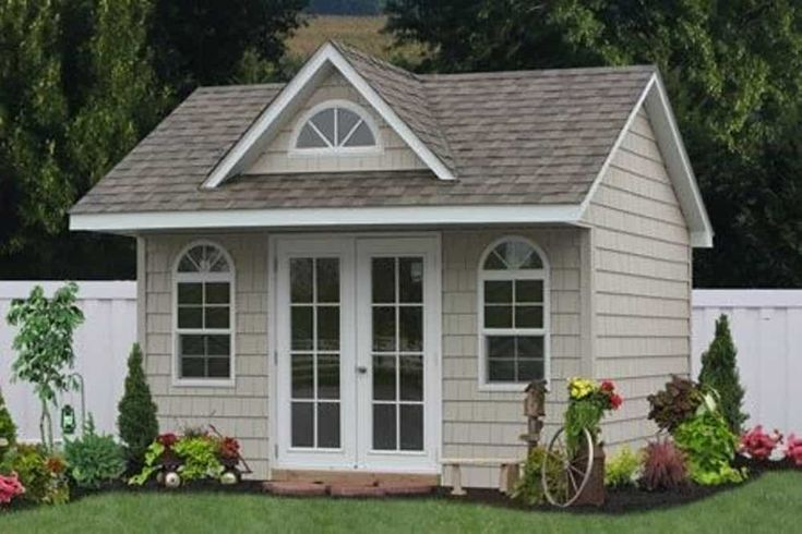 Outdoor Prefab Storage Sheds