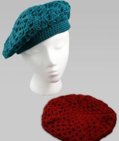 Easy Crochet Beret free crochet pattern - Free Crochet Beret Patterns - The Lavender Chair