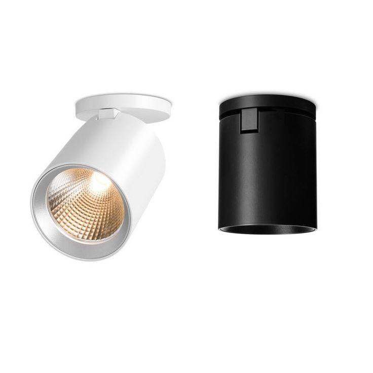 Spot de plafond / à LED / rond / en aluminium SEVENTIES 31 by Jan Blieske & Jan Dinnebier MAWA DESIGN