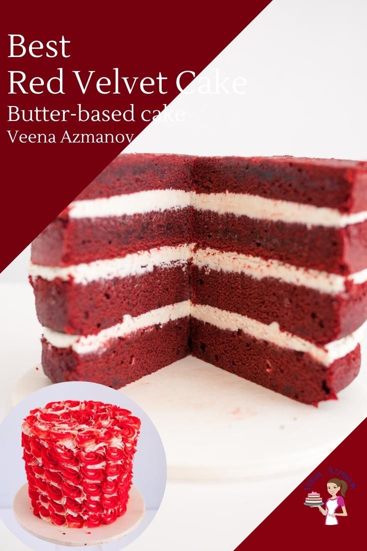 This Is The Best Red Velvet Cake Ever Moist Light And Fluffy With A Hint Of Cocoa A Simple Butter Ba In 2020 Red Velvet Cake Recipe Velvet Cake Recipes Cake Recipes