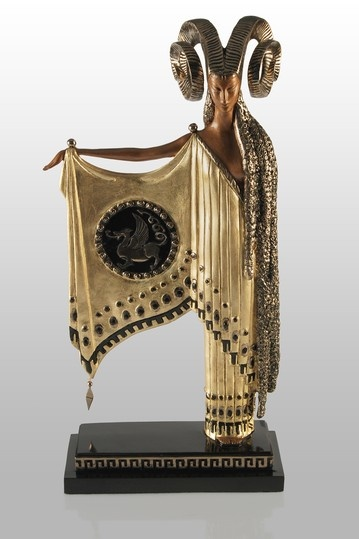 Golden Fleece Limited Edition Bronze Sculpture by Erte (1892-1990)
