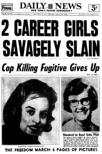 This Day in History: Aug 28,1963: Emily Hoffert and Janice Wylie are murdered in their Manhattan flat, prompting the events that would lead to the passing of the Miranda Rights.
