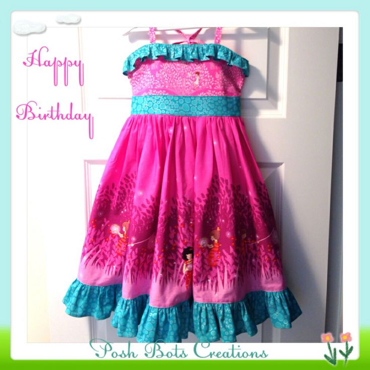 The Elise Party Dress A lovely cheerful party dress with a lined bodice & full twirly skirt  #handmadedress #handmade #girlsclothes #babyclothes #weewander #littlelizardking