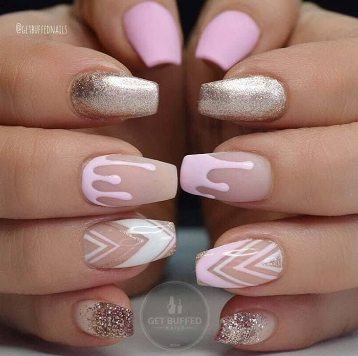 Best 25+ Acrylic nail designs ideas on Pinterest | Acrylic nails glitter,  Acrylics and Burgundy matte nails - Best 25+ Acrylic Nail Designs Ideas On Pinterest Acrylic Nails