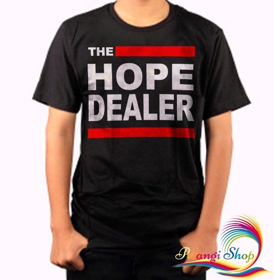 The+Hope+Dealer+Black+Men's+Tshirt