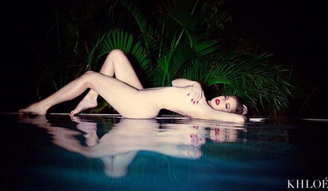 Pin for Later: 30+ Celebrities You've Definitely Seen Naked on Social Media Khloé Kardashian
