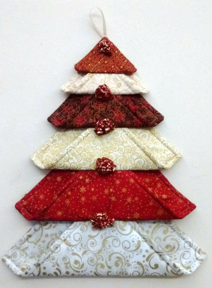 1000 Images About My Passion Folded Fabric Crafts On