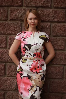 Акварельное платье / Фотофорум / Burda Style