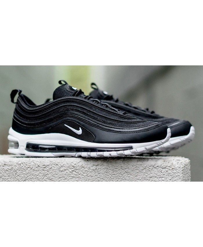 brand new 739f4 94b30 Authentic Nike Air Max 97 OG Black White Trainers