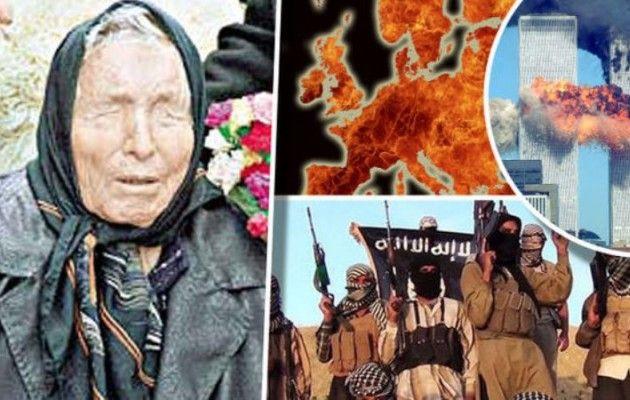 Η τρομακτική προφητεία της Μπάμπα Βάνγκα: Το Ισλαμικό Κράτος θα ερημώσει την Ευρώπη!