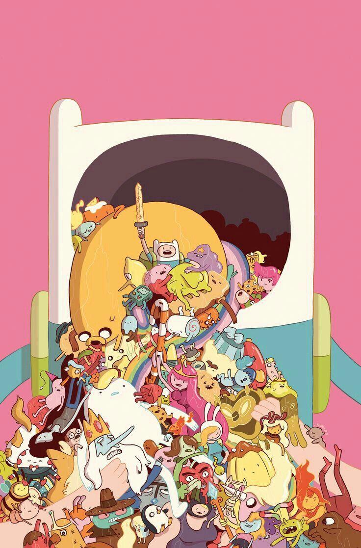 Adventure Time College - Ótima ilustração de adventure time de Luke Pearson❤ hora de aventura melhor  desenho
