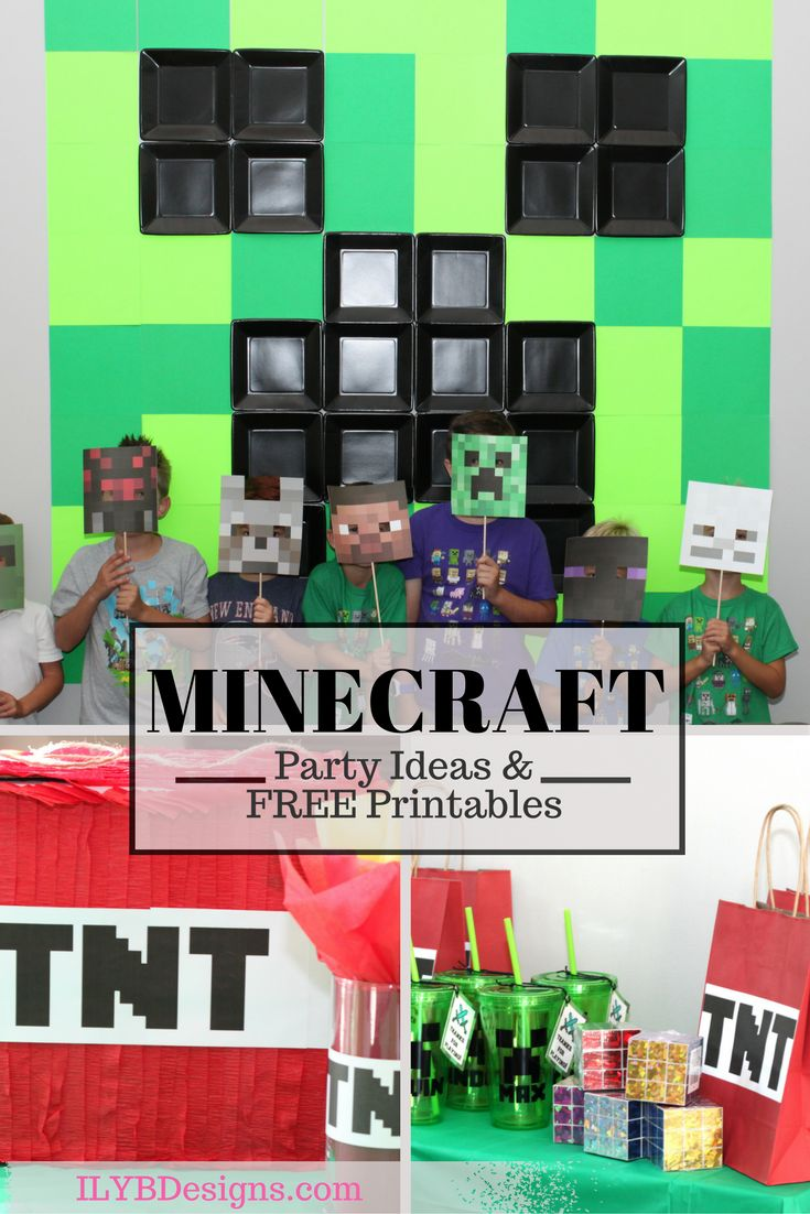 Best 25 minecraft party bags ideas on pinterest mine for Free mind craft games