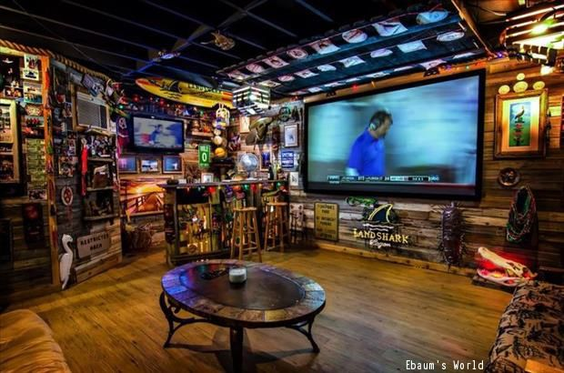 Bars For Home Man Caves Basement Designs