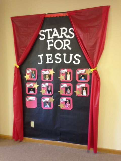 Lights, Camera, Action! Ideas for a Movie-themed Sunday School classroom by mommaowls