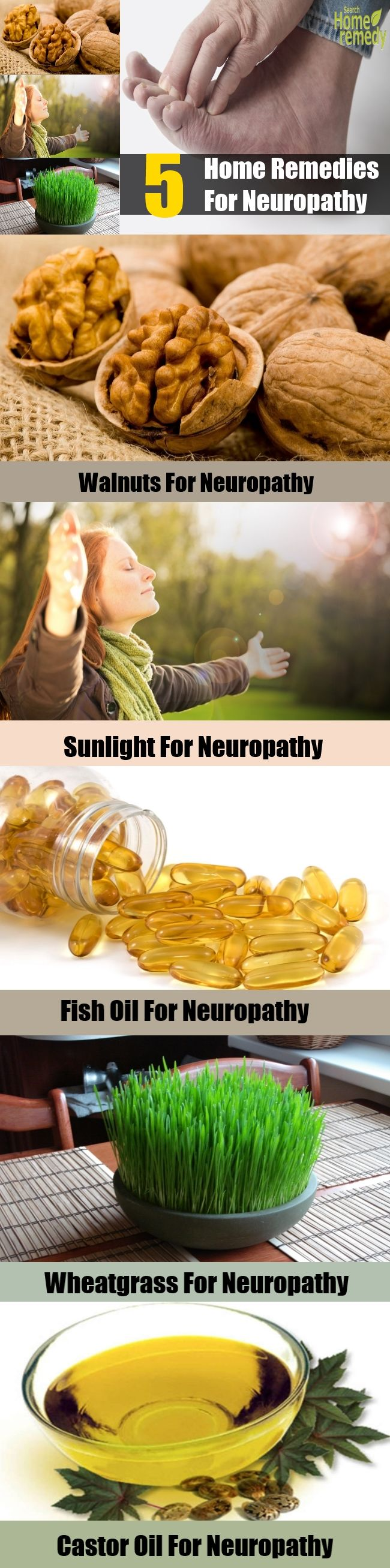 5 Effective Home Remedies For Neuropathy | healthybuzzer.com